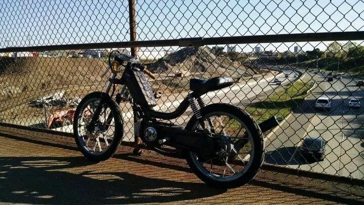 Tyler's Race Bike