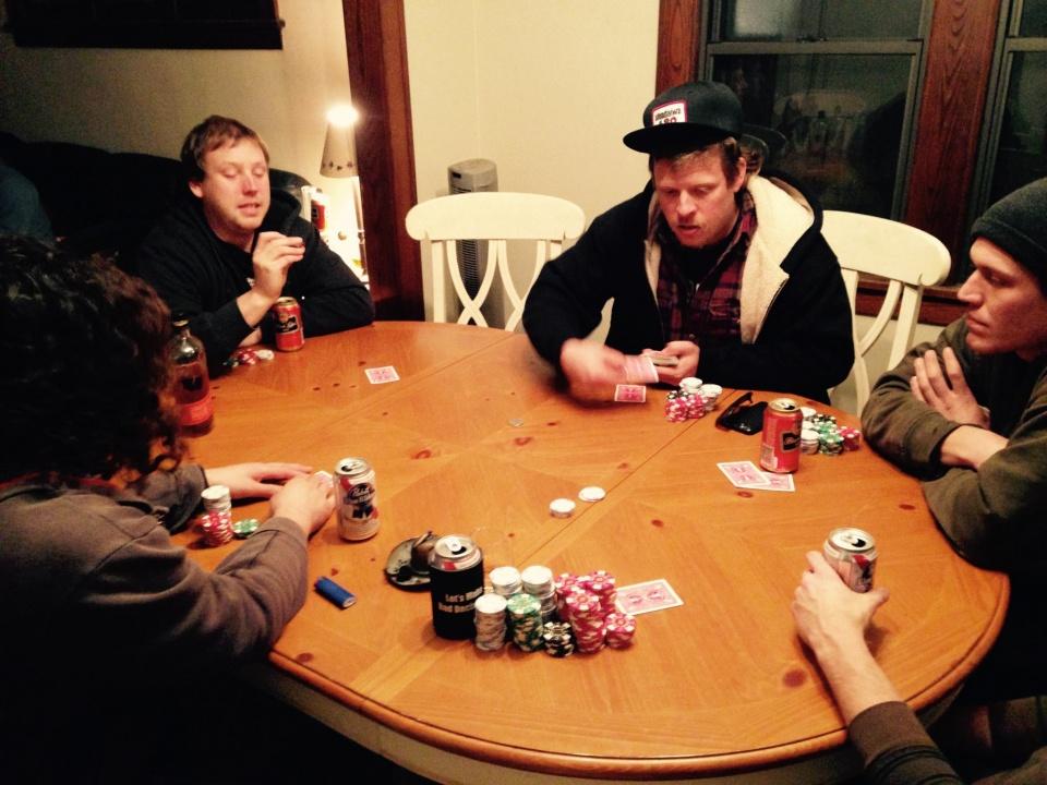 Casserollers Poker Night